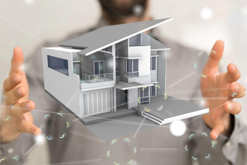 家庭物联网概念图