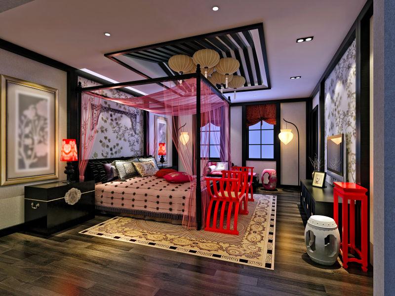 风格独特的卧室