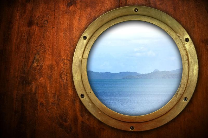 海景舷窗框架
