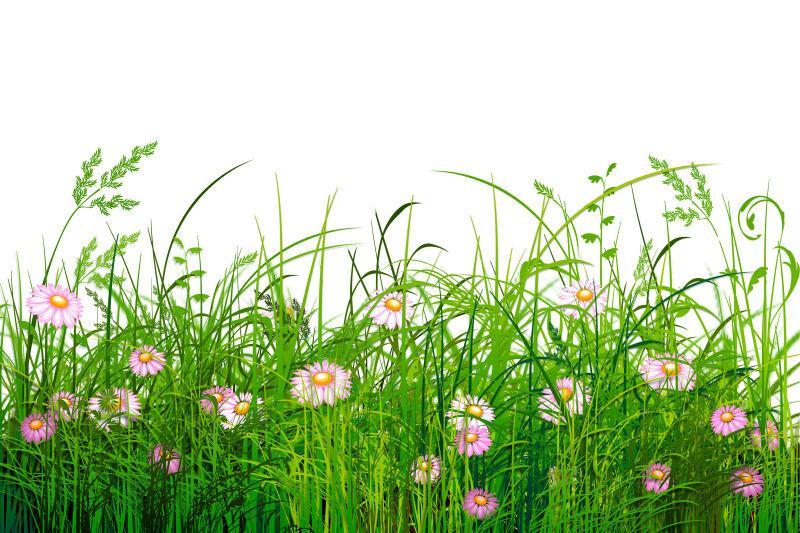 美女在花丛中_绿色的草地黄色小花图片-美丽的自然绿色的草地黄色小花素材 ...