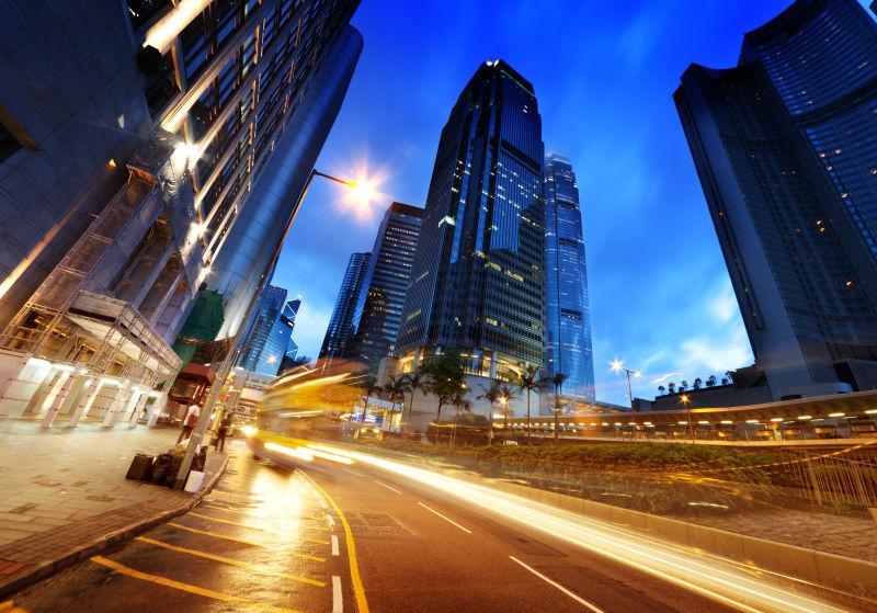 香港的日落时间交通