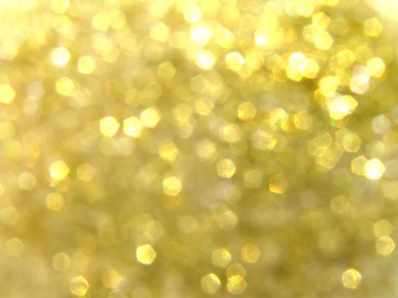 金色模糊灯光