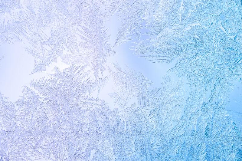 好看的玻璃冰霜