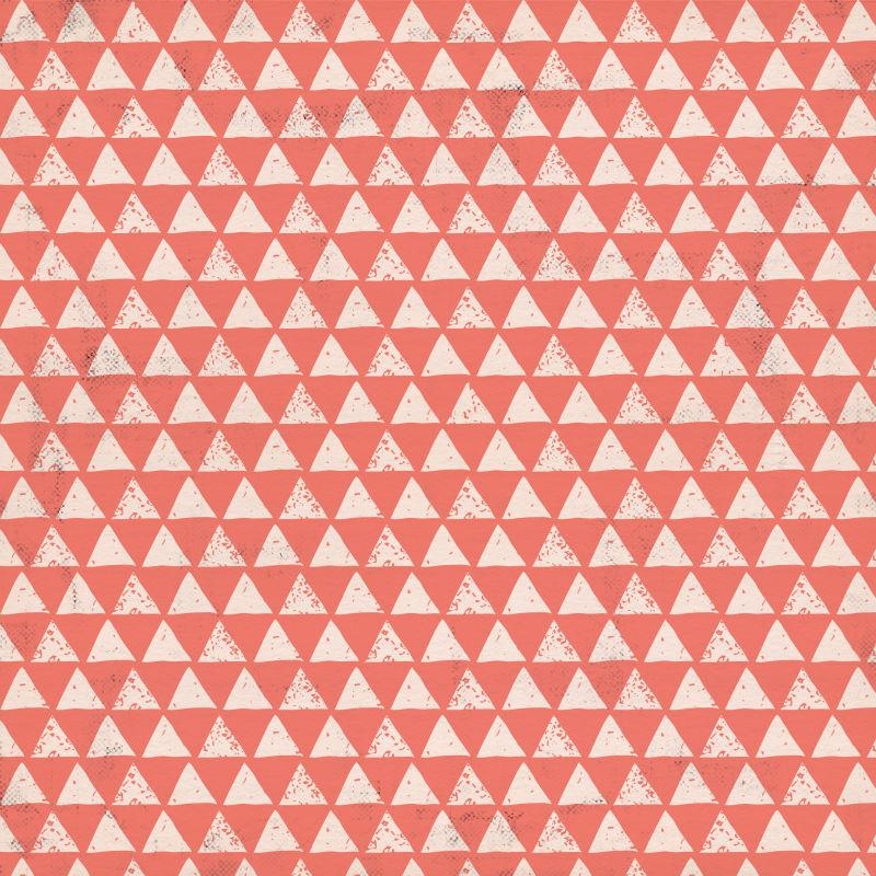 抽象三角无缝背景