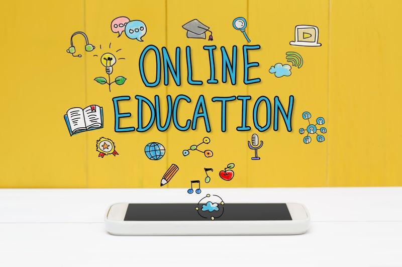 智能在线教育概念