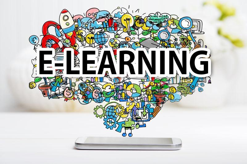 智能手机上的e-learning概念
