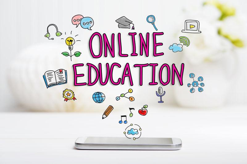 智能手机在线教育理念