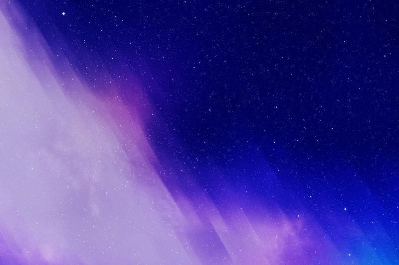 星夜的天空背景