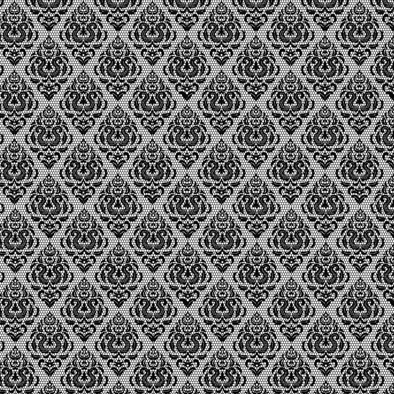 网纹无缝黑白花纹