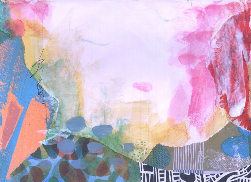 抽象派艺术背景