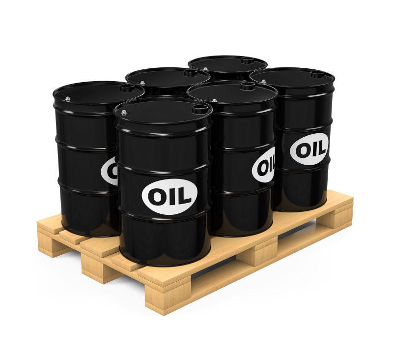 黑色的石油桶