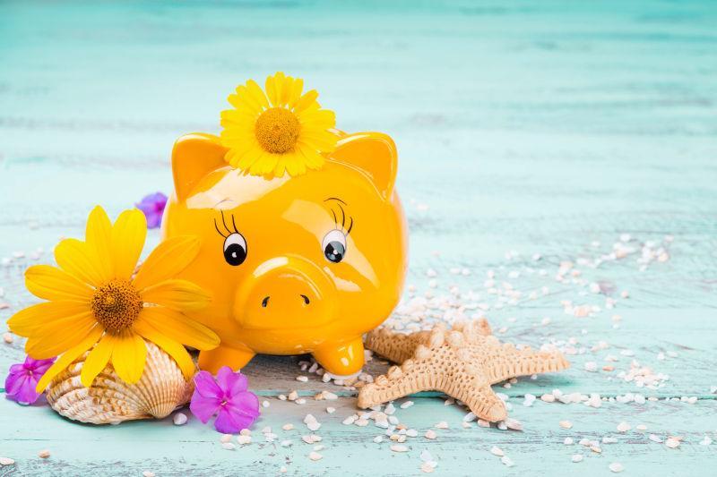存钱罐金融概念