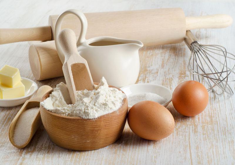 烘焙配料图片-面粉鸡蛋素材-高清图片-摄影照片-寻图免费打包下载
