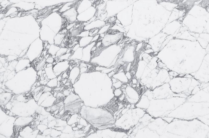 白色大理石表面的破碎纹理