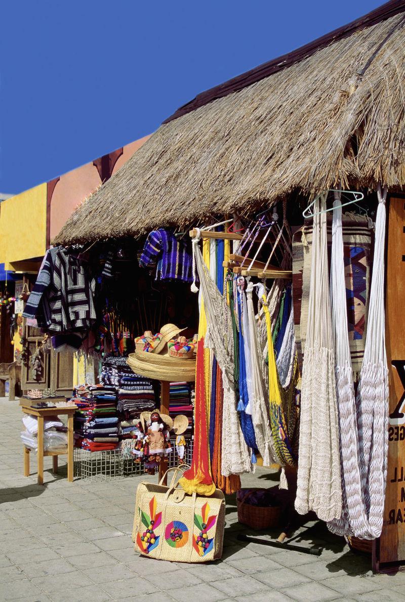 墨西哥市场集市摊位零售