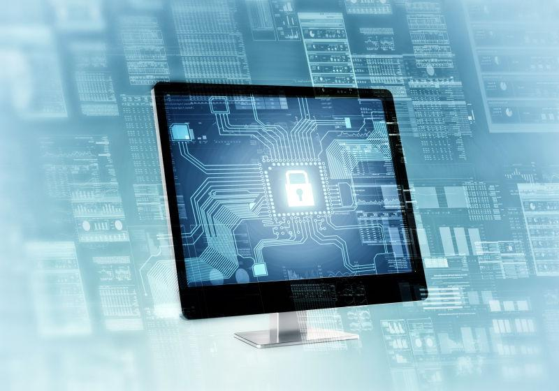 互联网安全连接概念