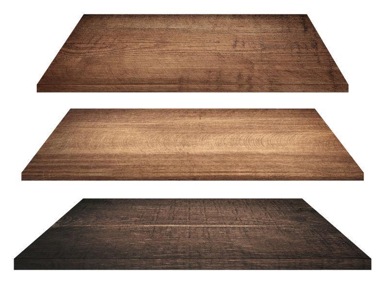木制桌面板shelves