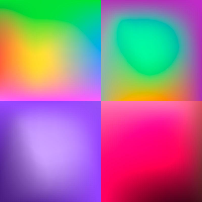 彩色的背景矢量插图