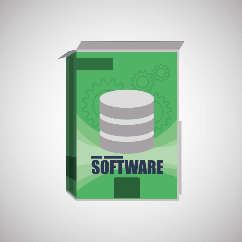 软件开发的设计和设备矢量