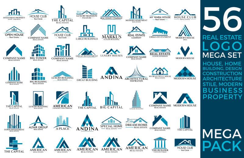 建筑矢量图标