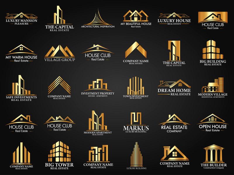 房地产建筑创意矢量标志