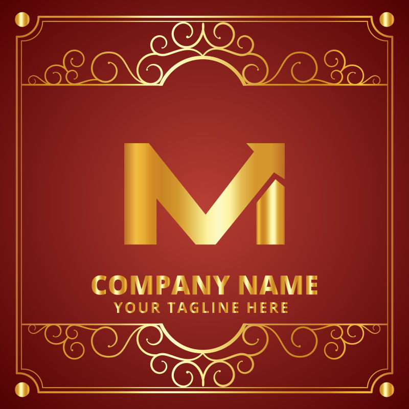 矢量公司logoM设计
