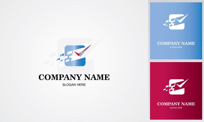矢量数据检查logo设计图