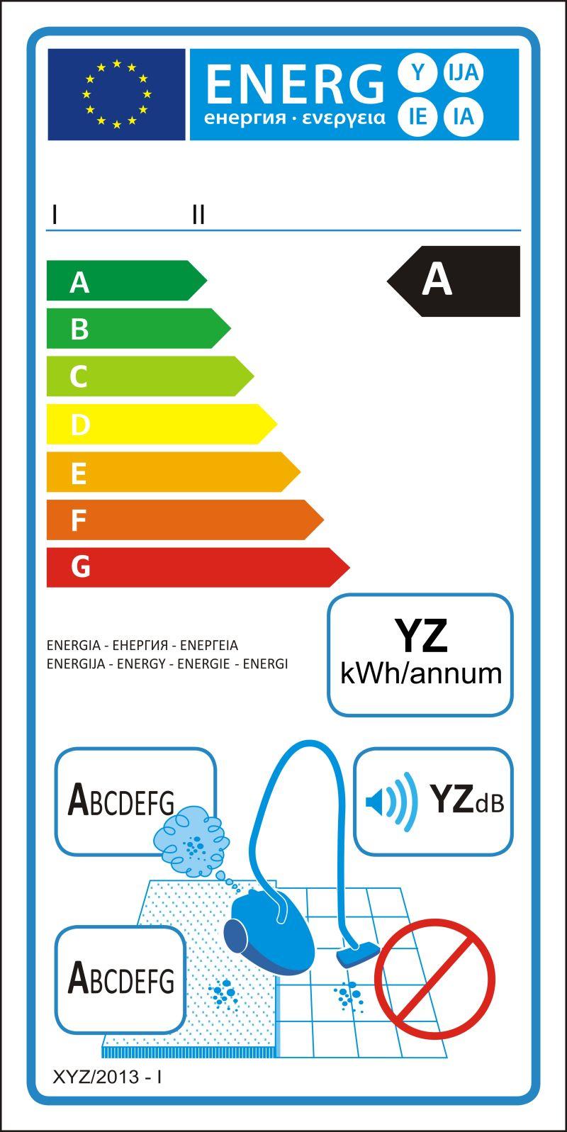 地毯真空吸尘器新能源等级图矢量标签