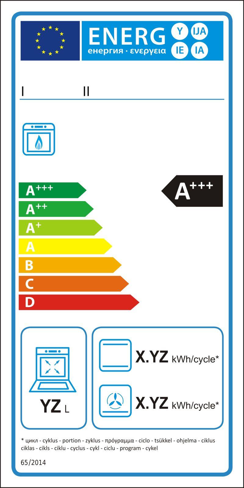 矢量气体炉新能源评级图形标签