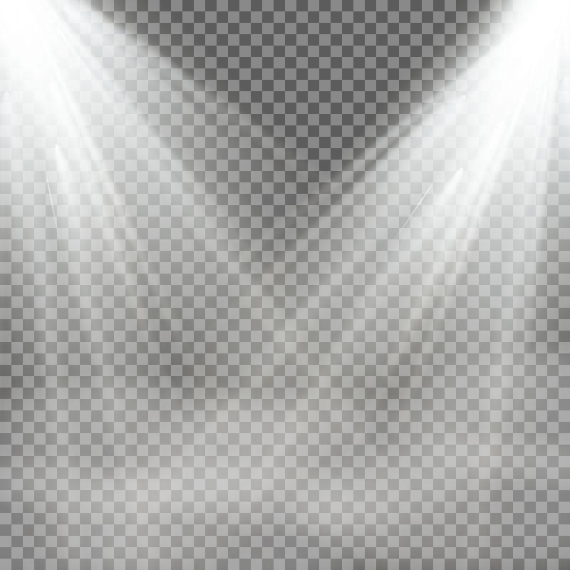 矢量聚光灯设计元素