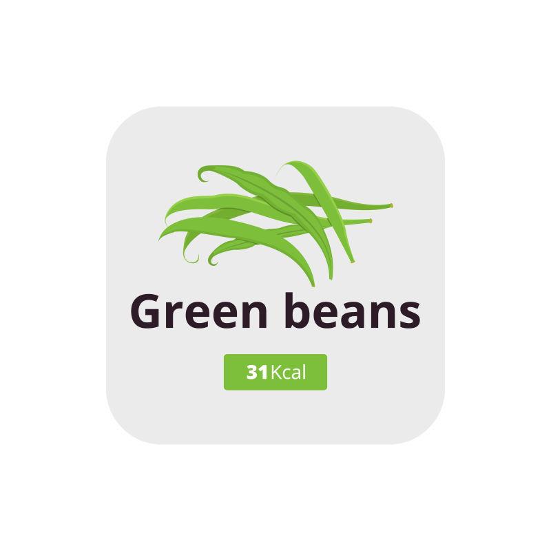 绿豆青豆矢量