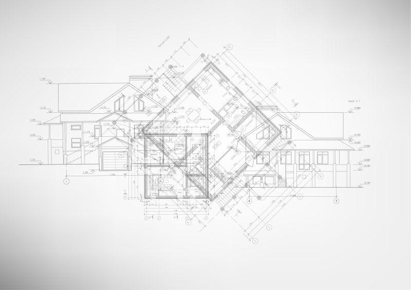 矢量发动机技术_矢量设计蓝图图片-创意矢量建筑设计蓝图素材-高清图片-摄影 ...
