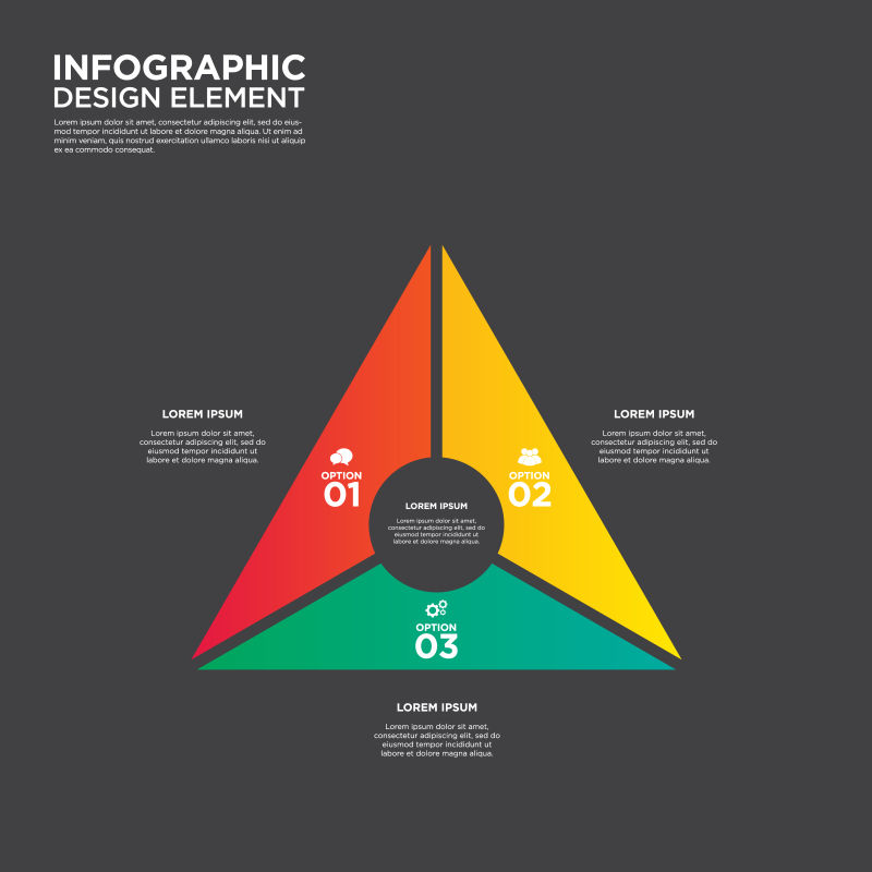 信息图表商业报表设计元素VECTO矢量