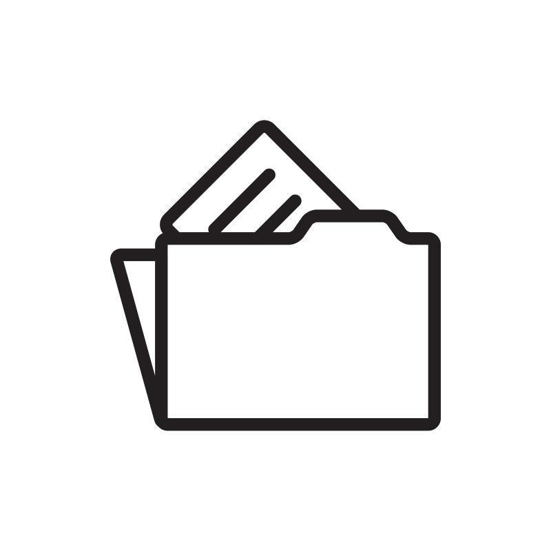 矢量文件夹图标