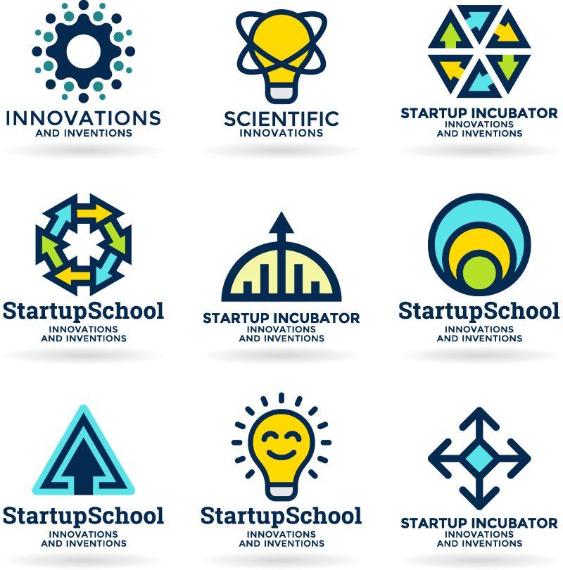 矢量的创意商业标志设计