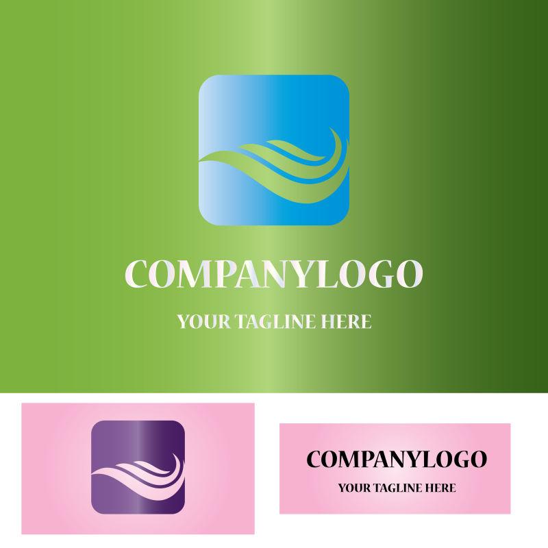 矢量现代元素商业标志