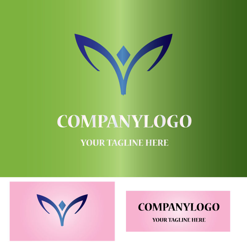 矢量现代元素商业logo设计