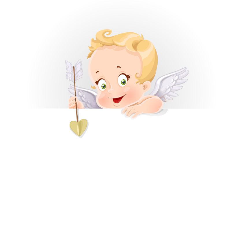 矢量的可爱天使
