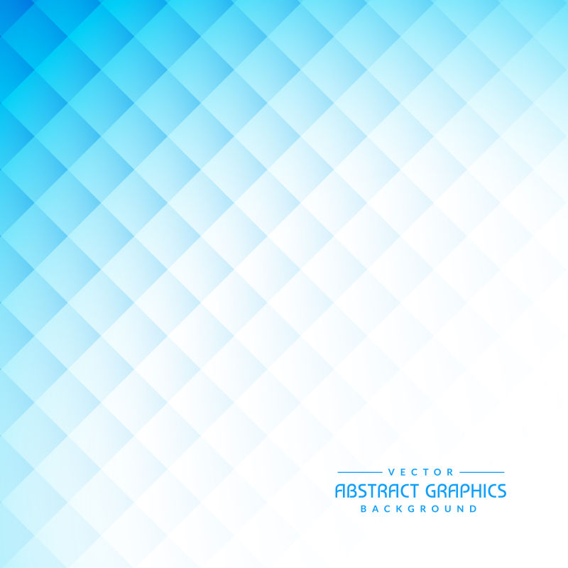 矢量蓝色渐变抽象几何背景