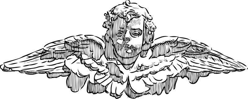 矢量天使丘比特