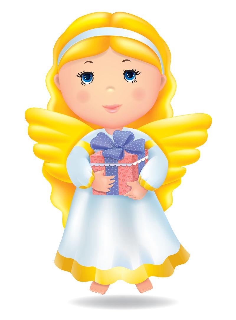 天使的礼物矢量