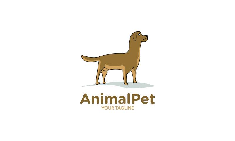 抽象矢量动物宠物标志设计