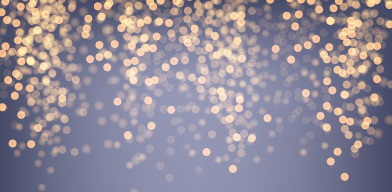 矢量金色发光设计背景