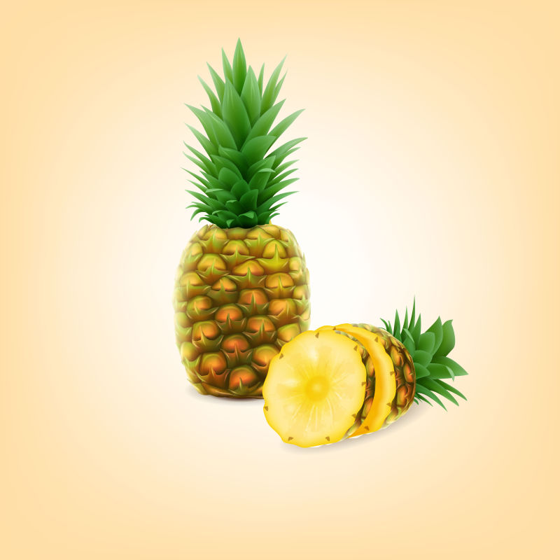 矢量的菠萝