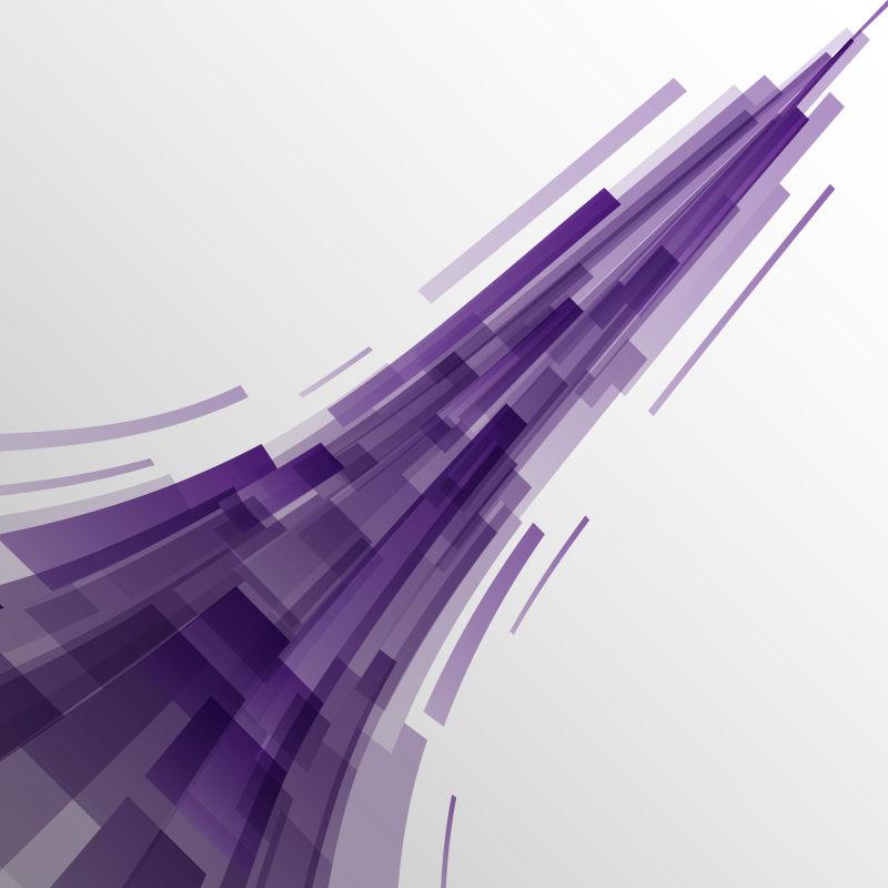 矢量的紫色矩形背景