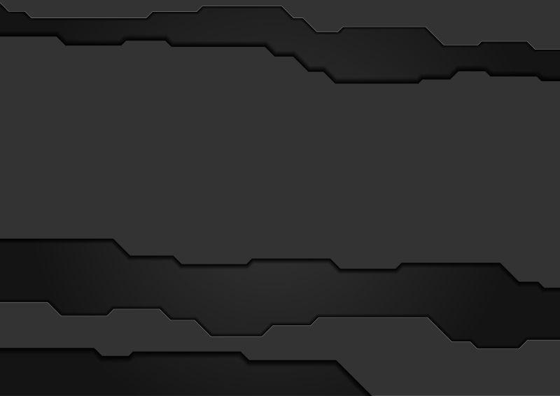 黑色抽象概念背景矢量设计