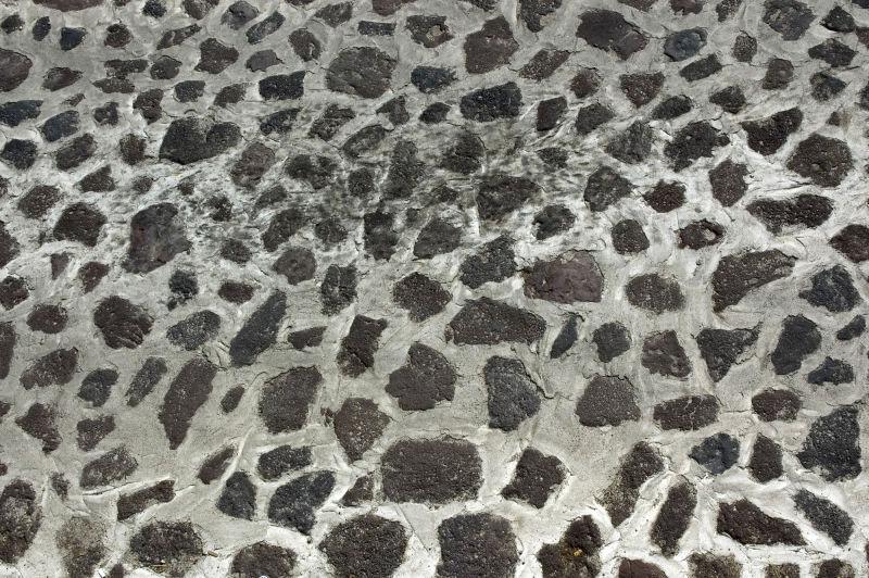 抽象豹纹风格石墙背景