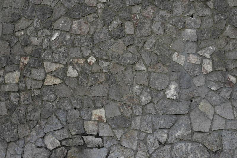 岩石结构石墙背景