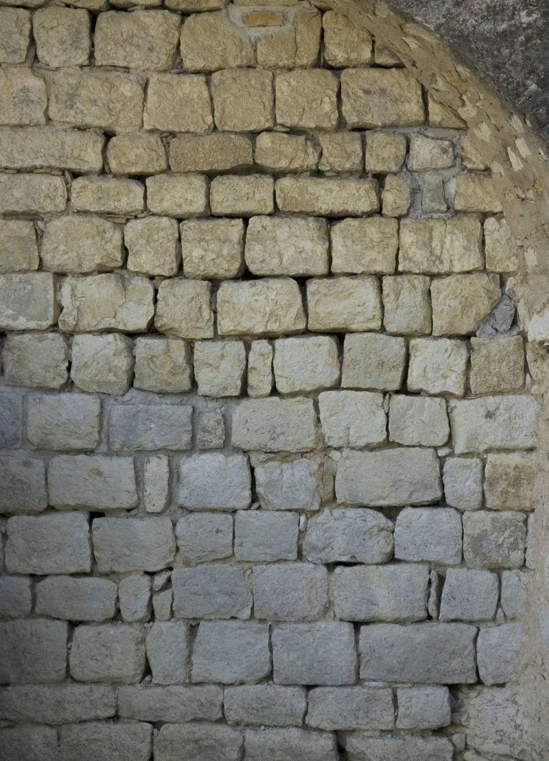 窑洞砖墙背景