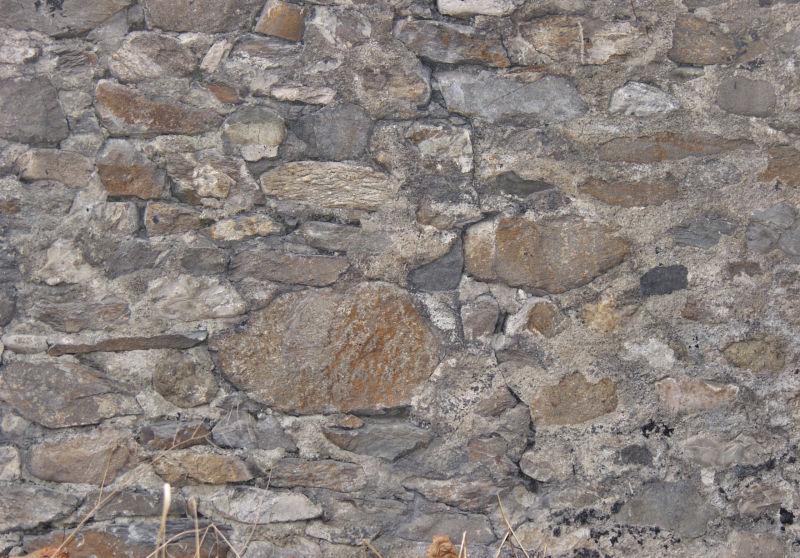 石头堆砌的墙背景